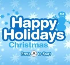 Happy Holidays: Christmas Cover Artwork