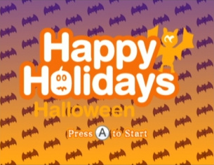 Happy Holidays: Halloween Cover Artwork