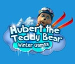 Hubert the Teddy Bear: Winter Games Cover (Click to enlarge)