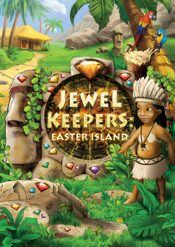 Jewel Keepers: Easter Island Cover Artwork