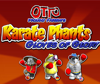 Karate Phants: Gloves of Glory Cover Artwork