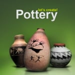 Let's Create! Pottery Cover (Click to enlarge)
