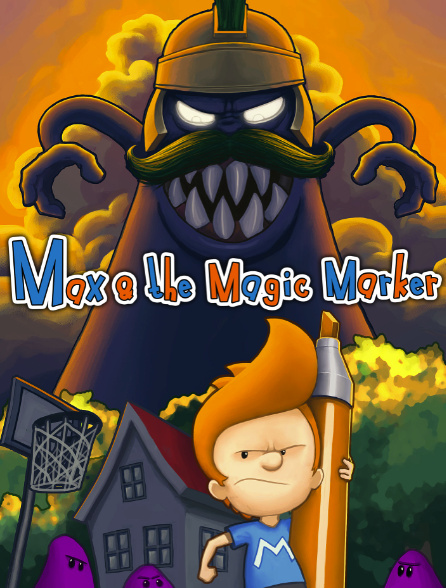 Max & the Magic Marker Cover Artwork