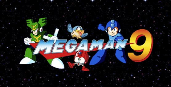 Mega Man 9 Cover Artwork