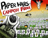Paper Wars: Cannon Fodder Cover Artwork