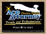 Phoenix Wright: Ace Attorney - Trials & Tribulations Cover Artwork