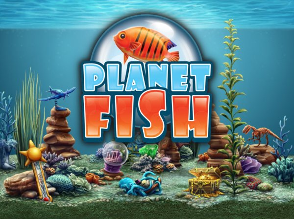 Planet Fish Cover Artwork