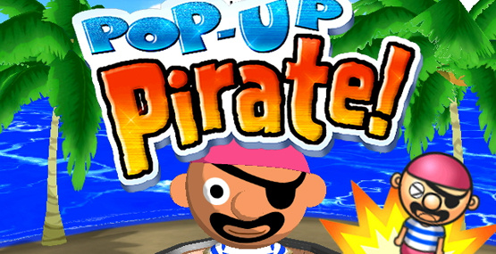 Pop-Up Pirate! Cover Artwork
