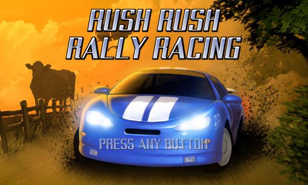 Rush Rush Rally Racing Cover Artwork