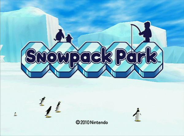Snowpack Park Cover Artwork