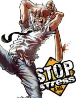 Stop Stress: A Day of Fury Cover (Click to enlarge)