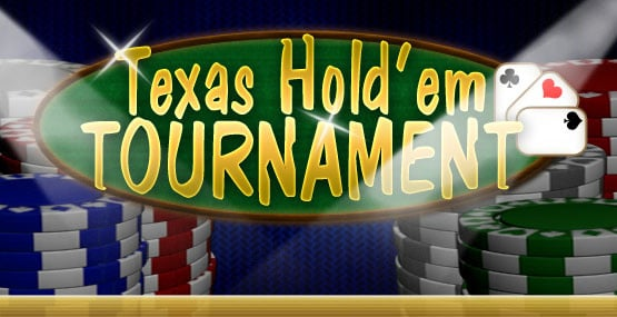 Texas Hold'em Tournament Cover Artwork