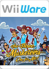 The Three Musketeers: One For All! Cover Artwork