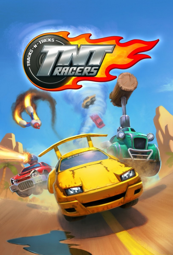TNT Racers Cover Artwork