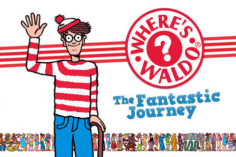 Where's Wally? Fantastic Journey 1 Cover Artwork