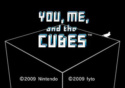 You, Me, and the Cubes Cover Artwork