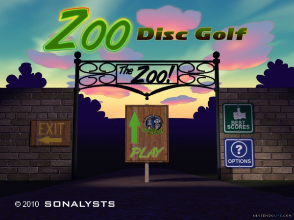 Zoo Disc Golf Cover Artwork