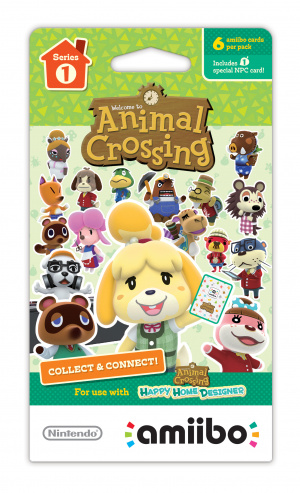 Animal Crossing Cards - Series 1 amiibo Pack