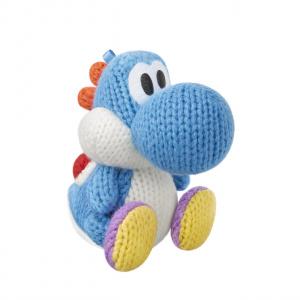 Light Blue Yarn Yoshi amiibo