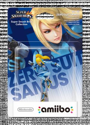 Zero Suit Samus amiibo Pack
