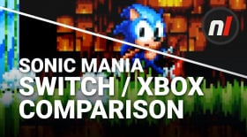 Sonic Mania Nintendo Switch / Xbox One Graphical Comparison