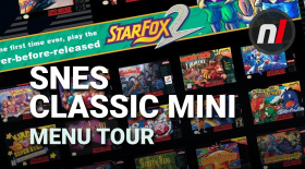 Super NES Classic User Interface Menu Tour - New Rewind State Feature