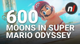 Super Mario Odyssey has at Least 600 Power Moons to Collect | Nintendo Switch