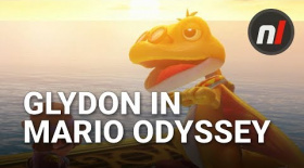 New Character Glydon in Super Mario Odyssey for Switch