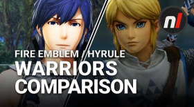 Zelda vs Fire Emblem | Fire Emblem Warriors / Hyrule Warriors Graphical Comparison