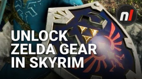 How to Unlock Zelda Gear in Skyrim on Nintendo Switch
