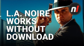 L.A. Noire DOES Work Without the Download on Switch