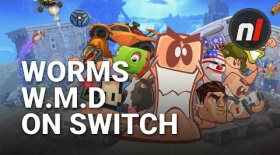 First Look at Worms WMD Running on Nintendo Switch