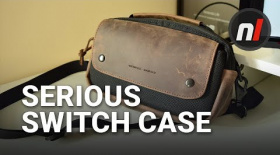 Hardcore Leather Switch Case for Serious Switchers | WaterField Arcade Gaming Case Review