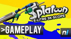 Splatoon: E-Litre 3K Scope Gameplay