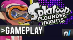 Splatoon: Flounder Heights Gameplay 60fps - NEW MAP