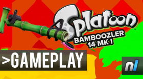 Splatoon: Bamboozler 14 Mk I Gameplay 60fps - NEW WEAPON
