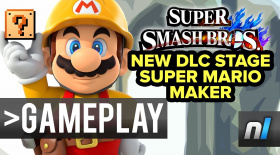 Super Mario Maker & Omega Form Super Smash Bros. Wii U Gameplay 60fps