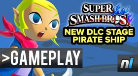 Pirate Ship & Omega Form Super Smash Bros. Wii U Gameplay 60fps
