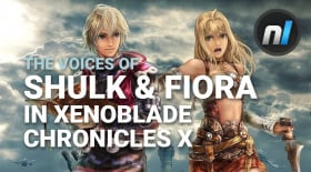 Shulk & Fiora in Xenoblade Chronicles X as Character Voices | Character Creation with Alex