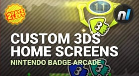 Custom 3DS Home Screens | Nintendo Badge Arcade