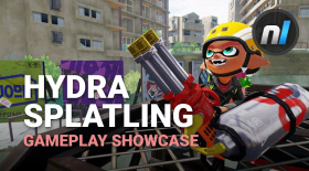 Splatoon Hydra Splatling Gameplay Showcase 60fps