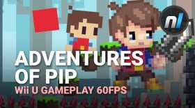 Pixel-Powered Platformer - Adventures of Pip Wii U Gameplay 60fps