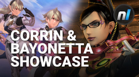 Bayonetta & Corrin Super Smash Bros. Gameplay Showcase