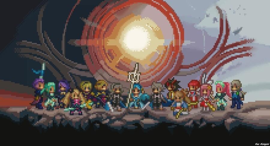 Fire Emblem Fates Pixel Art Wallpaper