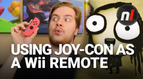 Using a Nintendo Switch Joy-Con Like a Wii Remote | Tomorrow Corporation on Nintendo Switch