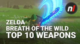 Top Ten Weapons in The Legend of Zelda: Breath of the Wild with Arekkz Gaming