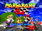 Mario Kart Drops Onto Virtual Console
