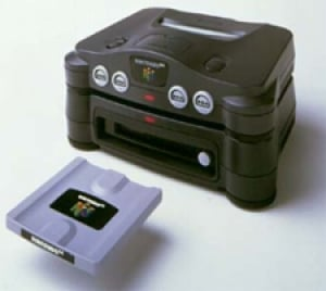 The ill fated 64DD attachment