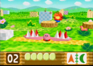 Kirby's first 3D adventure!