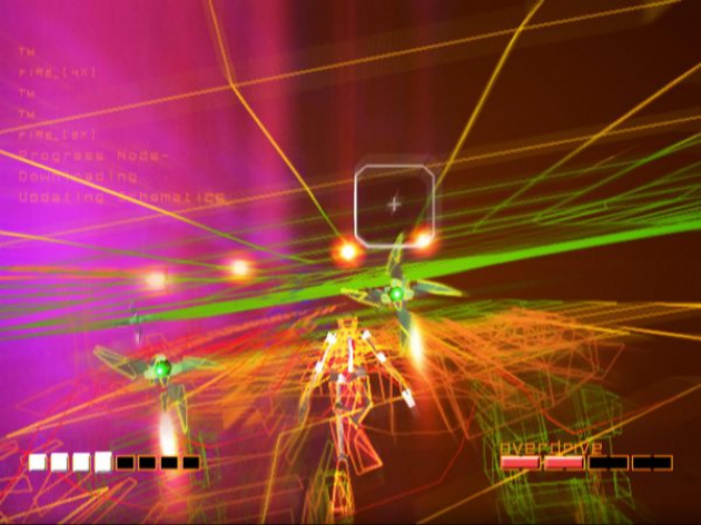 The wonderful Rez, now available on XBLA